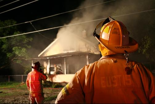 Eustis, Florida House Fire June 2007